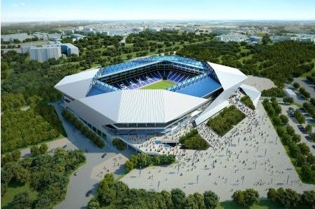 ガンバ大阪の新スタジアム7月に着工!