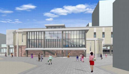 JR神戸線-摂津本山駅橋上化
