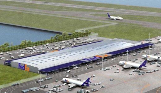 フェデックス、北太平洋地区ハブを関西国際空港に開設、来春から操業