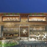 近鉄百貨店枚方店跡に建設される枚方T-SITE(仮称)は斬新なデザインのガラス張りビル!
