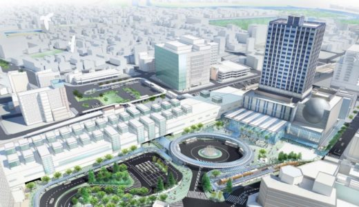 福井県で最も高い高層ビルとなる福井駅西口再開発ビルが着工!