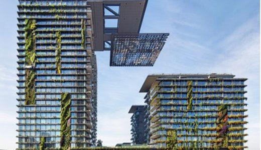 積水ハウスが手がけるシドニー中心部の複合開発「Central Park Sydney」の空中庭園が凄い!
