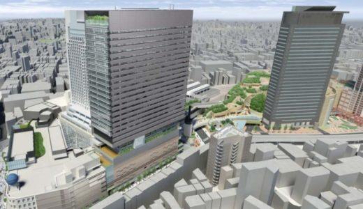 新南海会館ビル(仮称)の最新のイメージパースが発表され最新のビルデザインが判明、着工は2015年9月1日!