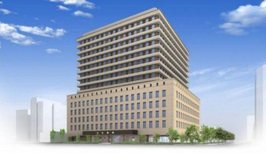 日本生命済生会新日生病院建設プロジェクトの状況 17.03