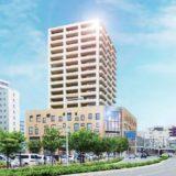 函館駅前の新しいランドマークタワー「キラリス函館」