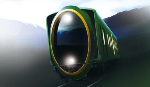 まるでカメラのレンズ!?叡山電車の未来過ぎる観光用車両が2018年春にデビュー!