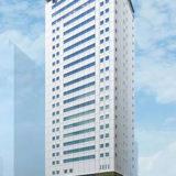 SGリアルティが計画している(仮称)karaksa hotel Shin-Osaka Premierの建設状況 17.10
