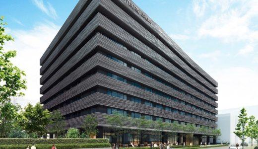 ホテルヴィスキオ大阪 by GRANVIAーJR西日本の新ブランドホテルの建設状況 17.12