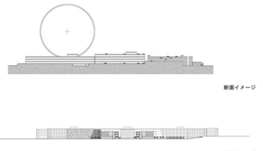 三井不動産がエキスポランド跡地に高さ約170mの世界最大級の観覧車を計画!