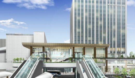 ホテルメトロポリタン仙台イースト(JR仙台駅東口再開発計画)の建設状況 16.09