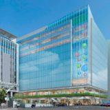 JR博多駅前の再開発、博多郵便局一体の敷地に2棟のビルを建設する「博多駅中央街地区地区計画」が始動!