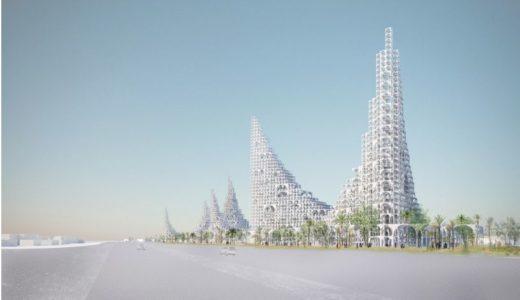 建築家の藤本壮介氏が提案する「蜃気楼の様なランドマーク」が凄い!