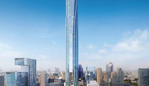 バンコクに東南アジア最高と高さなる615メートルの超高層ビルの建設計画が始動、その名は「スーパータワー」!