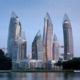 シンガポールの湾曲した巨大コンドミニアム、Reflections at Keppel Bay(リフレクションズ・アット・ケッペルベイ)