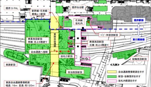JR仙台駅東口再開発計画