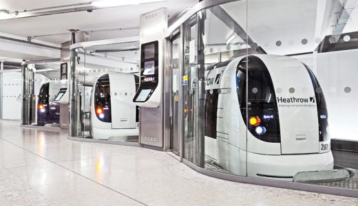 ロンドン北部の小都市ミルトンケインズが全自動運転のポッド型電気自動車ULTra Podを100台導入!