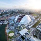 シンガポールの新ランドマーク、世界最大のドーム シンガポール・スポーツ・ハブ(Singapore Sports Hub)