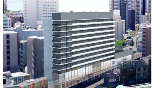 阪神電鉄とJR西日本が初めての共同開発。福島駅近くに地上12階建てのホテル・商業施設を建設!