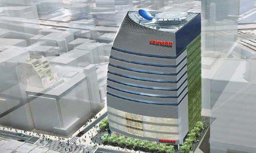 ヤンマーグループ新本社ビル、本体新築工事に着手!