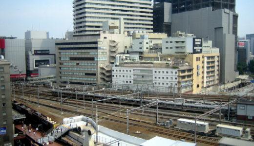 JR大阪駅と阪急梅田を結ぶ歩道橋に変化あり