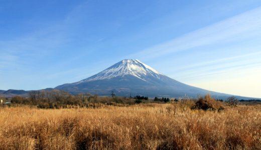 富士宮道路から見た富士山