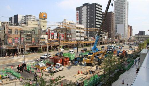 阿倍野筋拡幅工事計画 13.04