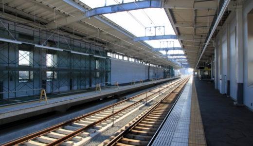 近鉄奈良線-連続立体交差事業 -河内花園駅 14.07