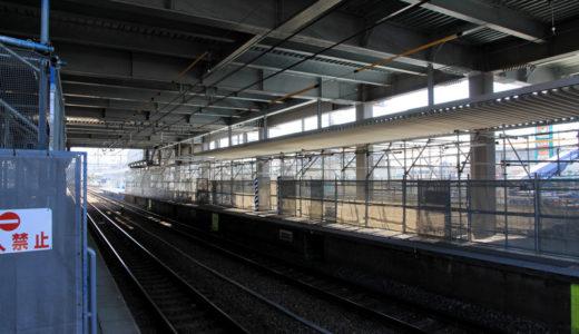 JR京都線-岸辺駅橋上駅舎化 11.04