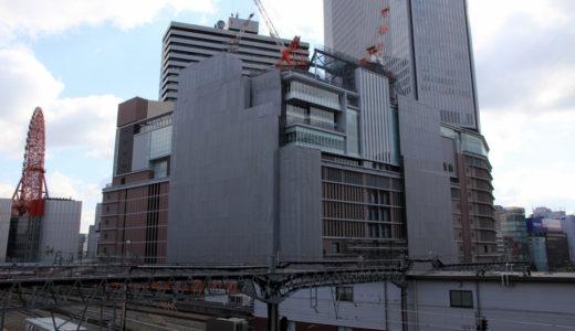 阪急梅田本店・二期棟建設工事 12.03