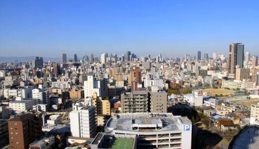 大阪市交通局本局庁舎からの眺め