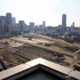うめきた二期地区として再開発が予定されている「JR貨物梅田駅」解体工事 14.01