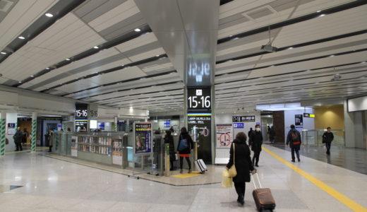おおさか東線新大阪駅構内改良工事 14.01