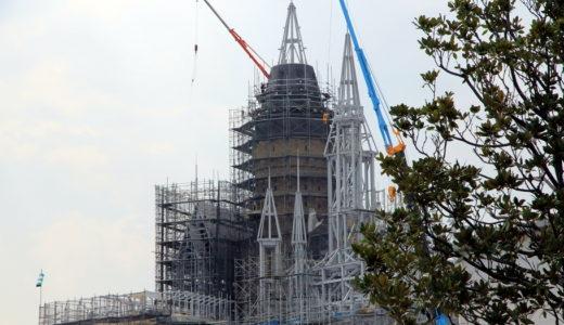 USJの新エリア「ハリー・ポッターの魔法の世界」の建設状況 13.08