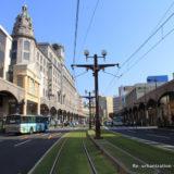 路面電車の軌道敷緑化とセンターポール化