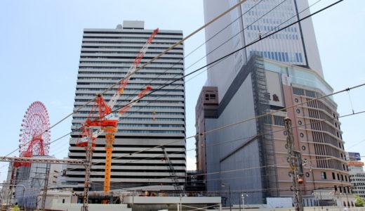 阪急梅田本店・二期棟建設工事 11.06