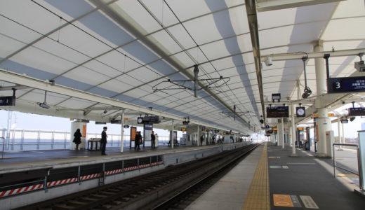 京阪本線-淀駅高架化工事 13.03