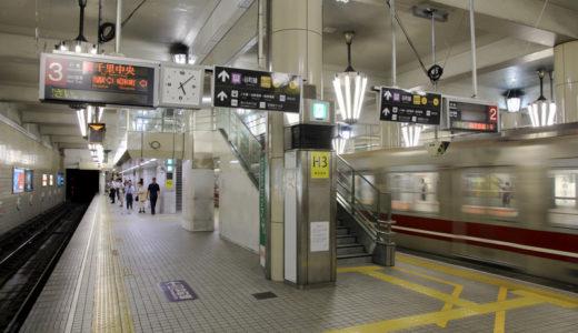 地下鉄天王寺駅-御堂筋線ホーム改良工事 11.06