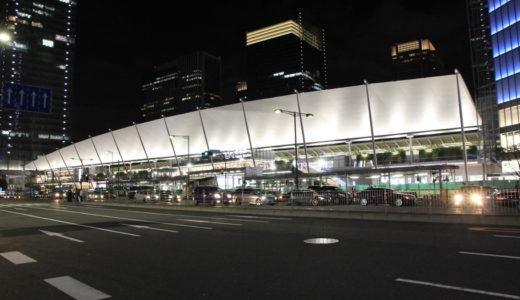 東京駅八重洲口に登場した「グランルーフ」の夜景