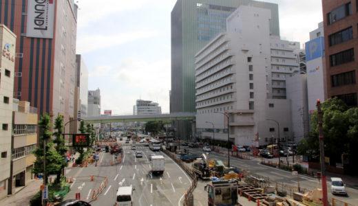 阪神本線-三宮駅改良工事11.06