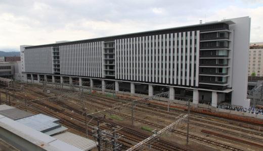 ホテル近鉄京都駅(近鉄京都駅改良工事) 11.07