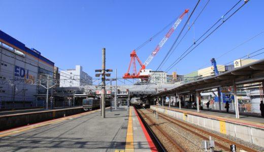 JR神戸線-尼崎駅改良工事 13.10