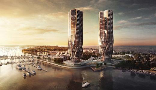 新国立競技場を設計したザハ・ハディド氏がオーストラリアで有機的デザインの超高層ビルを計画中!