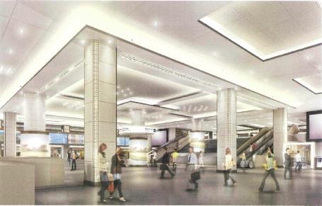 阪急梅田駅リニューアル開始!コンセプトは「劇場空間 阪急スタイル」