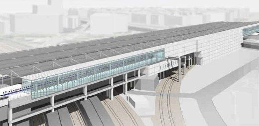 新大阪駅増築