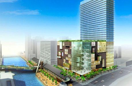 南堀江複合施設計画
