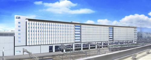 近鉄京都駅改修計画