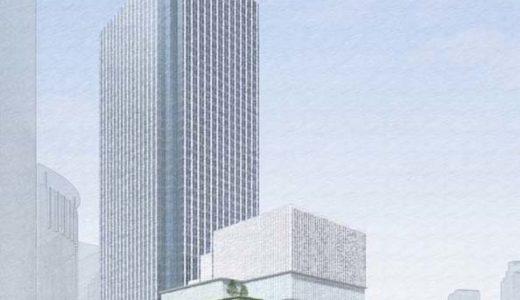 大阪中央郵便局も超高層化