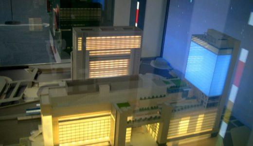 新北ビルの模型!