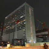 夜の梅田歩道橋