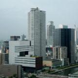 グランキューブ大阪からの眺め